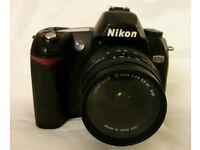 Nikon D70 6.1 MP digital SLR camera