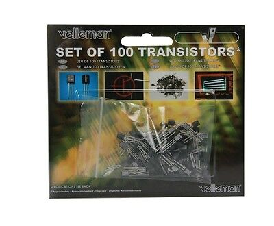 Transistor Assortment 100pcs Velleman Ktrans1