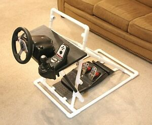 Racing-Gaming-Steering-Wheel-Stand-for-Logitech-G25-G27-PS3-PC-XBox-360-Forza-4