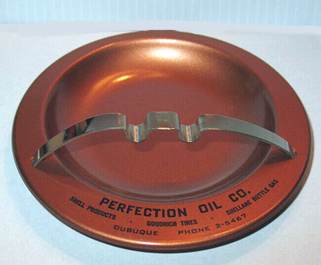 SHELL PERFECTION OIL ASH TRAY NOS 1950/'s VINTAGE PERFECT CONDITION NEVER USED