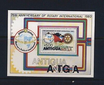 Antigua 75th Anniversary of Rotary International 1980 Stamp Pane 583 - #4005