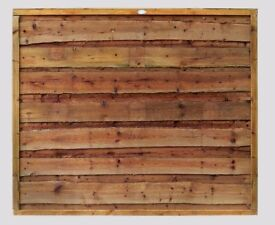 Heavy Duty Waneylap Tanalised Brown 10mm Boards 6ft x 3ft £25.00 Each