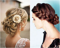 wedding hair - we come to you