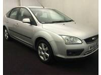 FORD FOCUS DIESEL 2006 LX 2006 5DOOR 12SERVICES FORD MOT TILL 24/11/2017 HPI CLEAR WARRANTED MILES