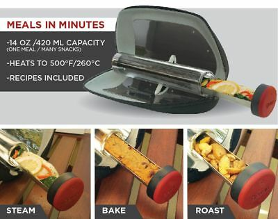 """CUSTOMER DEMAND PORTABLE (WEIGHS ONLY 2LBS) GOSUN """"GO"""" SOLAR COOKER..UNIQUE"""