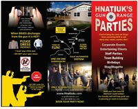 Shooting Party for up to 12 people at Hnatiuks $600