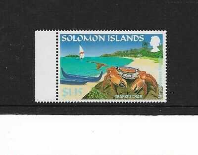 1995 Solomon Islands - Grapsid Crab - Single Stamp - Mint and Never Hinged.