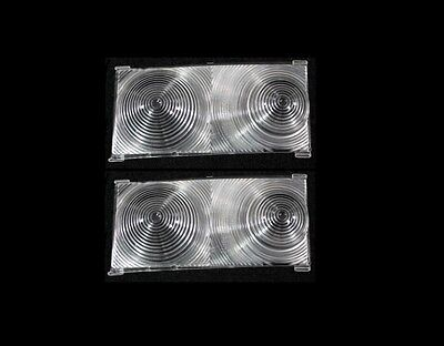 1965 Chevelle Station Wagon El Camino Inner Tail Light Lens Pair