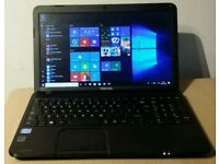 High spec Toshiba laptop. Core i5 3rd generation