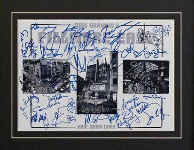 Fillmore Steppenwolf The Byrds Grateful Dead Autographs