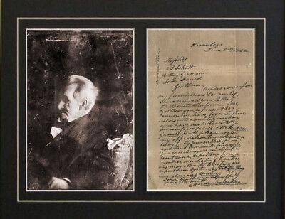 Andrew Jackson Autograph Signed Letter Photograph Print
