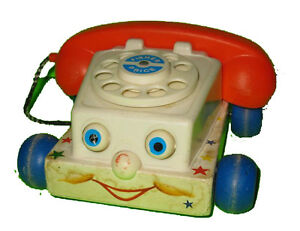 Fisher Price #747 Chatter Telephone