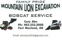 SPRING IS HERE! MOUNTAIN LION BOBCAT DELIVERS!