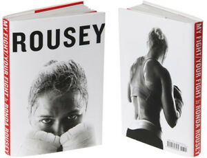 Rousey - my fight your fight reg $34 cover price