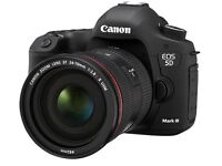 Canon 5d Mark iii 24-105mm lens kit, canon 600ex-rt speed light,