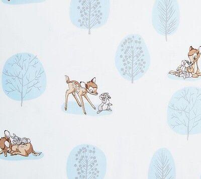 Fat Quarter Disney Bambi und Klopfer zusamen 100% Baumwolle Quilt Stoff blau (Blau Und Weiß Fat Quarter)