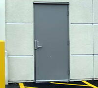 COMMERCIAL METAL DOORS | STEEL | FIRE-RATED DOORS | HARDWARE