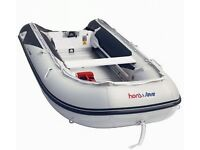 inflatable boat Honwave T35i and 6hp mariner 4 stroke outboard
