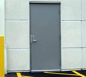 COMMERCIAL METAL DOORS | STEEL | FIRE-RATED DOORS | HARDWARE