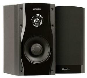 Definitive Technology SM45 Bookshelf Speakers - PAIR