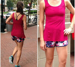 Lululemon Bumble Berry Wrappers Tank!