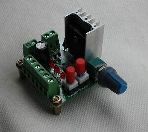 Stepper motor pulse signal generator module speed for Stepper motor velocity control