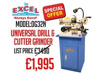 NEW EXCEL MACHINE TOOLS SPECIAL OFFER DG32N DRILL & CUTTER GRINDER