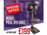 PD16 DRILL SPECIAL OFFER £199 - EXCEL MACHINE TOOLS