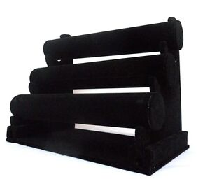 3 Tier Velvet Bangle Watch Bracelets Jewellery DISPLAY STAND ( CHEAPEST PRICE)