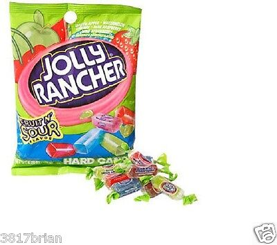 (NEW) BAG JOLLY RANCHER FRUIT N' SOUR HARD CANDY  RETRO  SNACKS](Retro Candy)