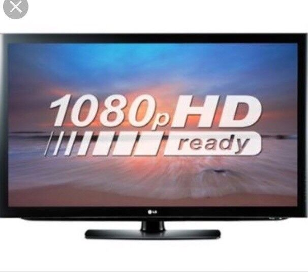 LG 42 inch hd ready tv built in freeview