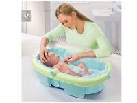 Newborn to Toddler Fold Away Baby Bath