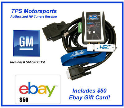HP Tuners VCM Suite Pro 6021 8 GM Tuning Credits 97-17 w/ $50 Ebay Gift Card