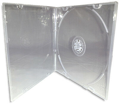 CD/DVD =CLAMSHELLS= SQUARE-SHAPED CD/DVD Cases! 200-Pak