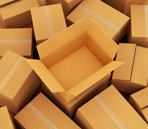 Best offer for 50-60 empty cardboard boxes!!!