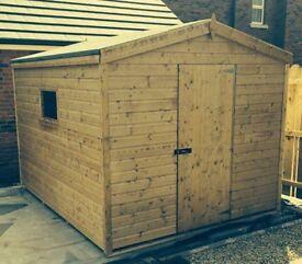 black friday offer 8ft x 6ft tg garden shed - Garden Sheds Belfast