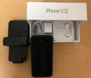 iPhone 5S 16Gb Noir en excellent état (usagé)
