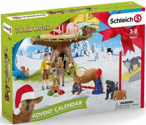 <>< Schleich FARM WORLD ADVENT CALENDAR VERY NICE 2020   98063