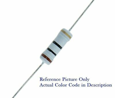 2 Ohm 2 Watt 2w 5 Tolerance Metal Oxide Film Resistor 10 Pieces