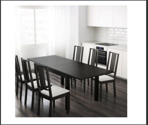 Dining table with four chairs - IKEA