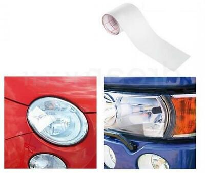 WHITE/Clear Headlamp Headlight Lens Tape Fix MOT Compliant fits TESLA