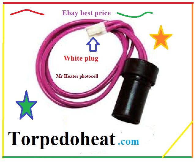 F226865 Mr Heater Flame Sensor Photocell All Kerosene Forced