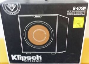 Klipsch Subwoofer 10 or 12 SUB NEW SUB-woofers
