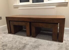 REDUCED PRICE! Beautiful nest of tables