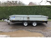 Ifor Williams 12ft dropside trailer