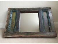 Shabby Distressed Wood Mirror £85