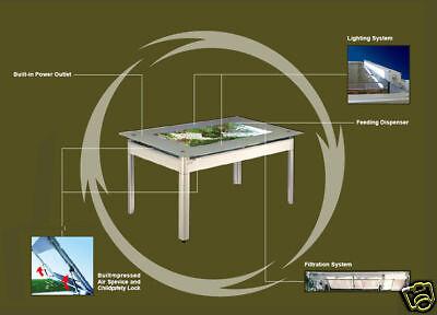Azoo Eco Desk Aquarium Dining Table