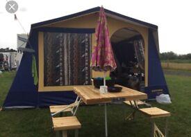 Sunncamp cottage 6 frame tent