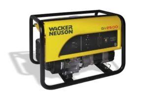 Wacker Neuson (GV 2500) 2500W Portable Generator w/ warranty$349