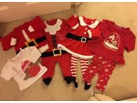 Baby 0-3 Christmas outfits